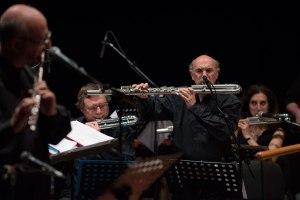 Orchestra di Flauti del Conservatorio di Musica Santa Cecilia Eugenio Colombo Teatro Studio Borgna, Auditorium, Rome, April 23, 2016 (photo: spaziofermo)